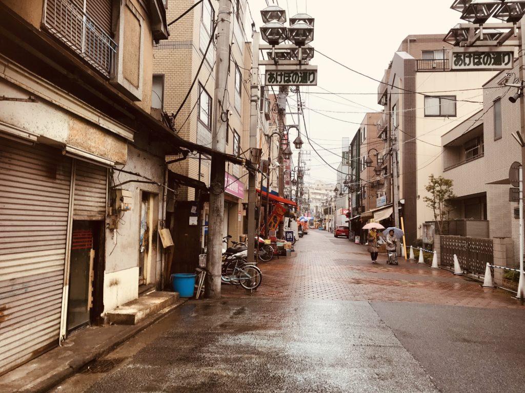 古き良き日本の街並み