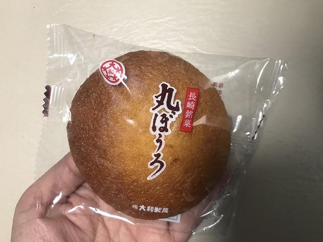 丸くて茶色いお菓子