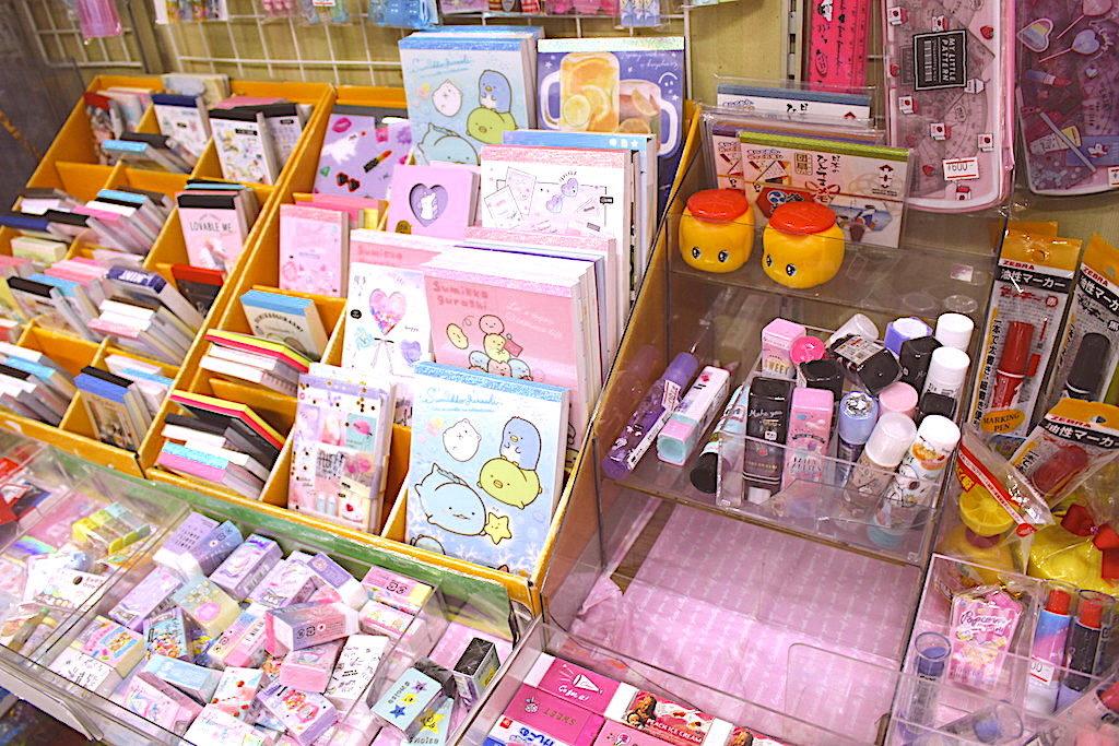 ピンク系の文房具