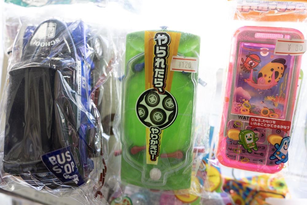 緑色のおもちゃ