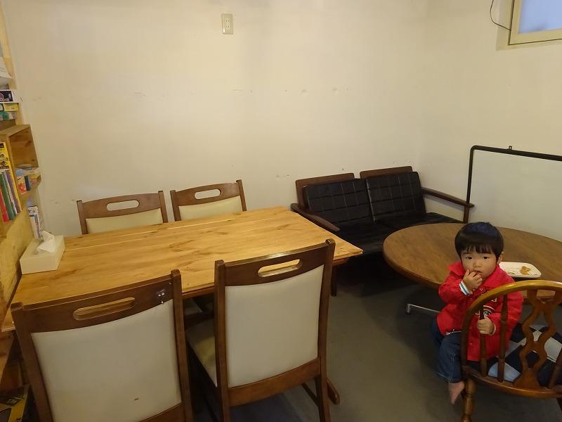 小さな子どもと家具