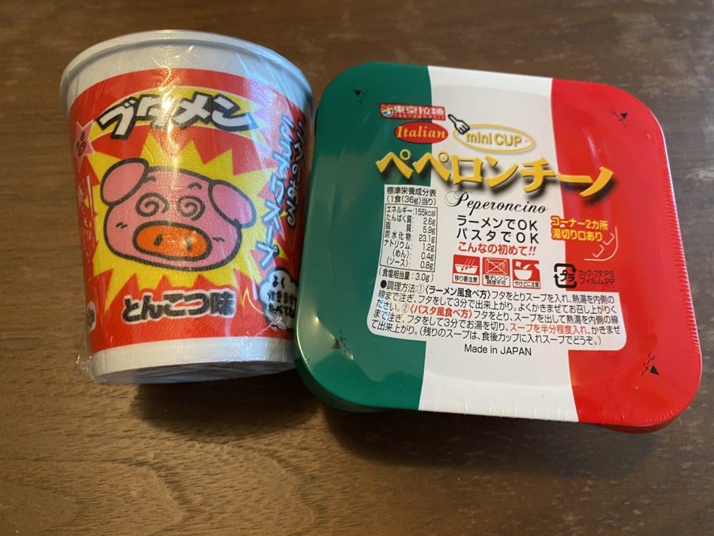 麺類のお菓子