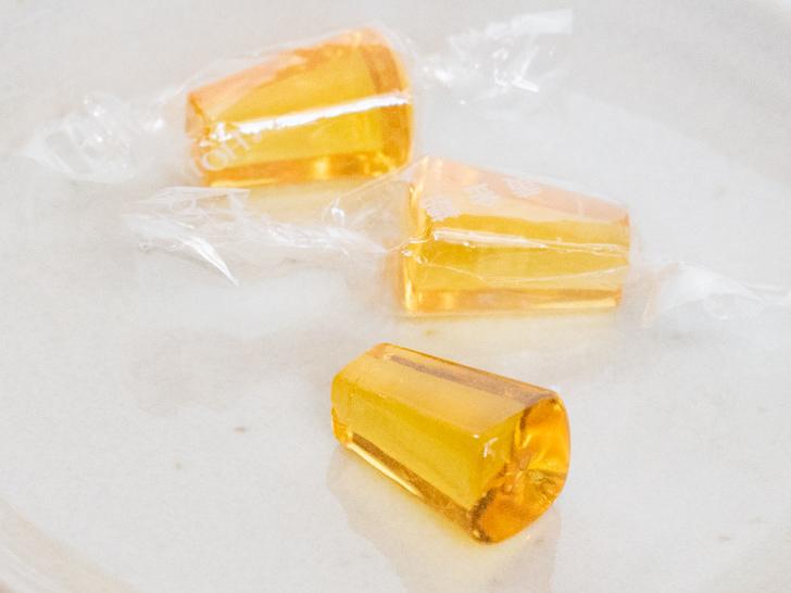 懐かしい飴:黄金糖